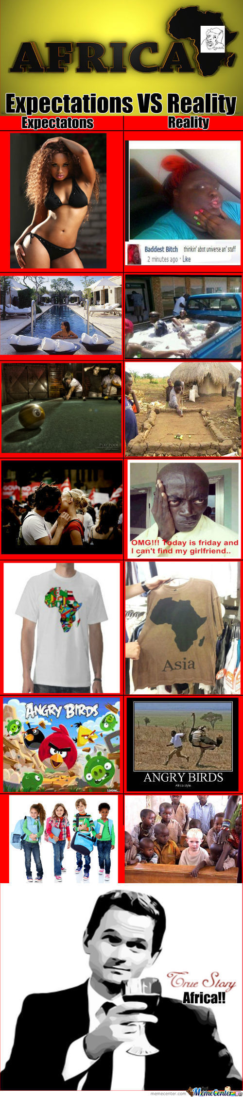 Expectations Vs Reality Africa!!!
