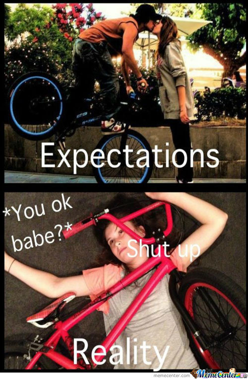 Expectations Vs. Reality