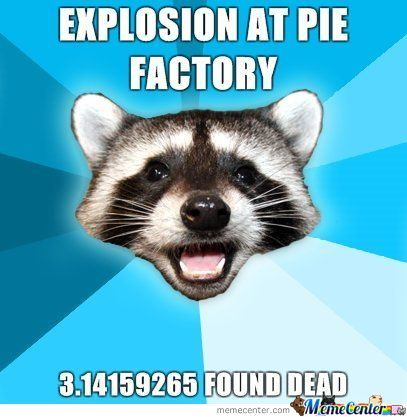 Explosion At  Pie Factory...