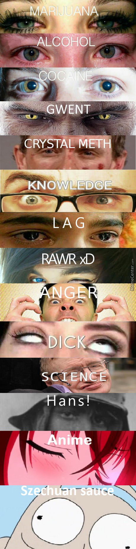 Eyes On Drugs, Choose Yours