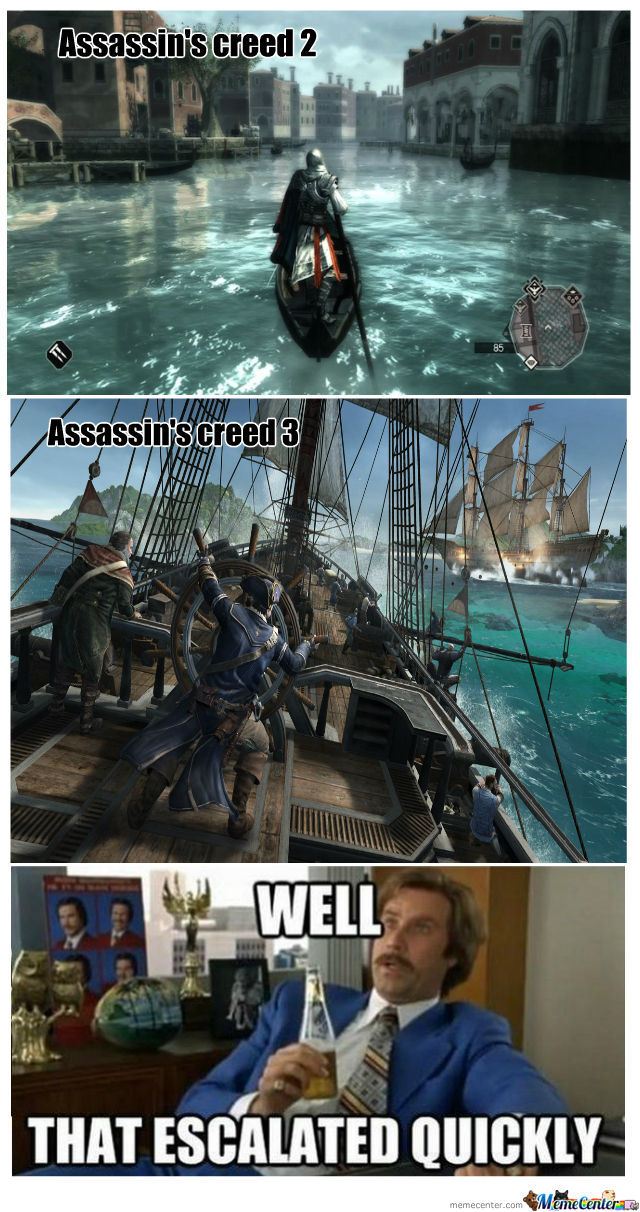 Ezio Vs Connor