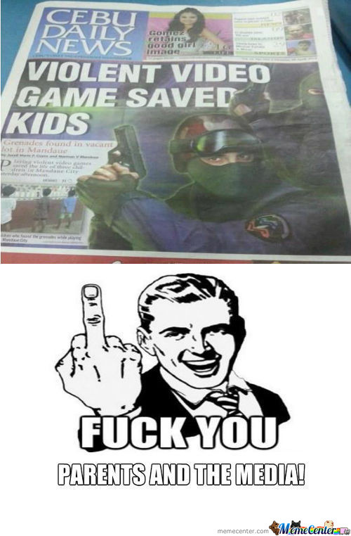 F**k You Parents And The Media!