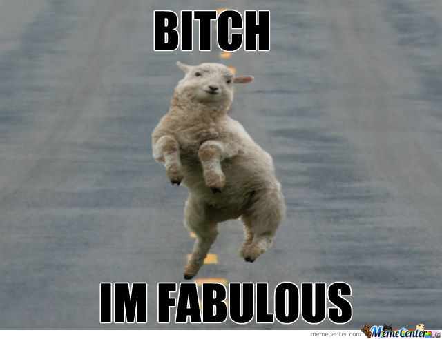 Fabulous Sheep Is Fabulous