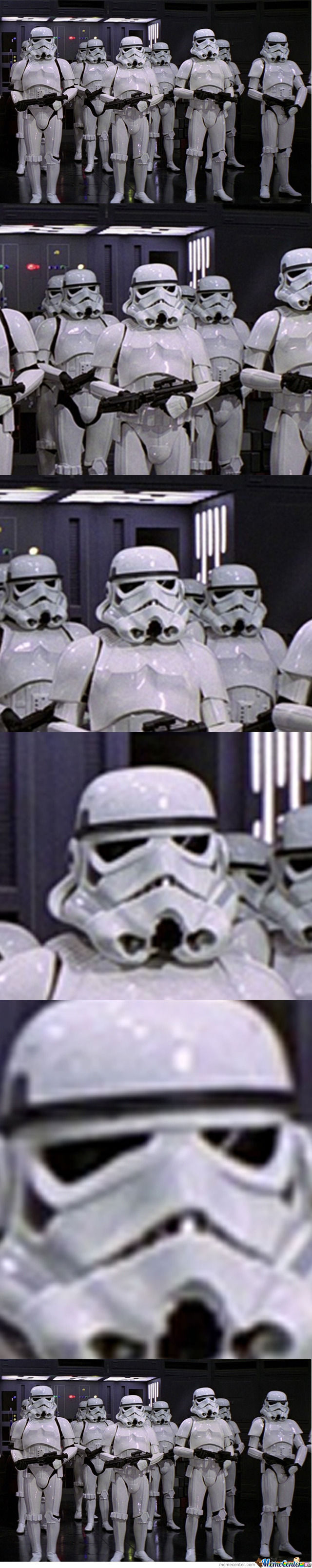 Face Swapping Level: Stormtroopers