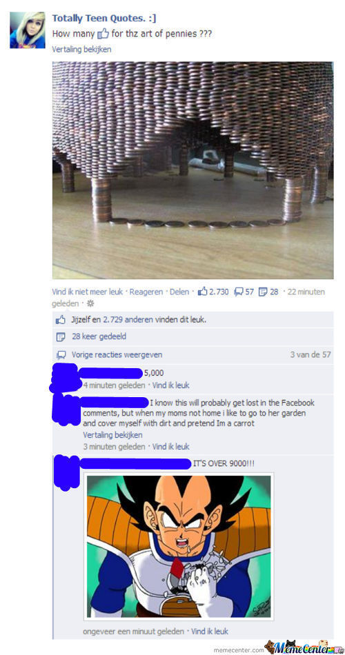 Facebook Fails Over 9000!!!