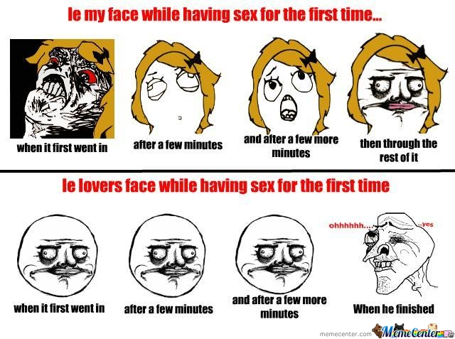 Faces While Having Sex