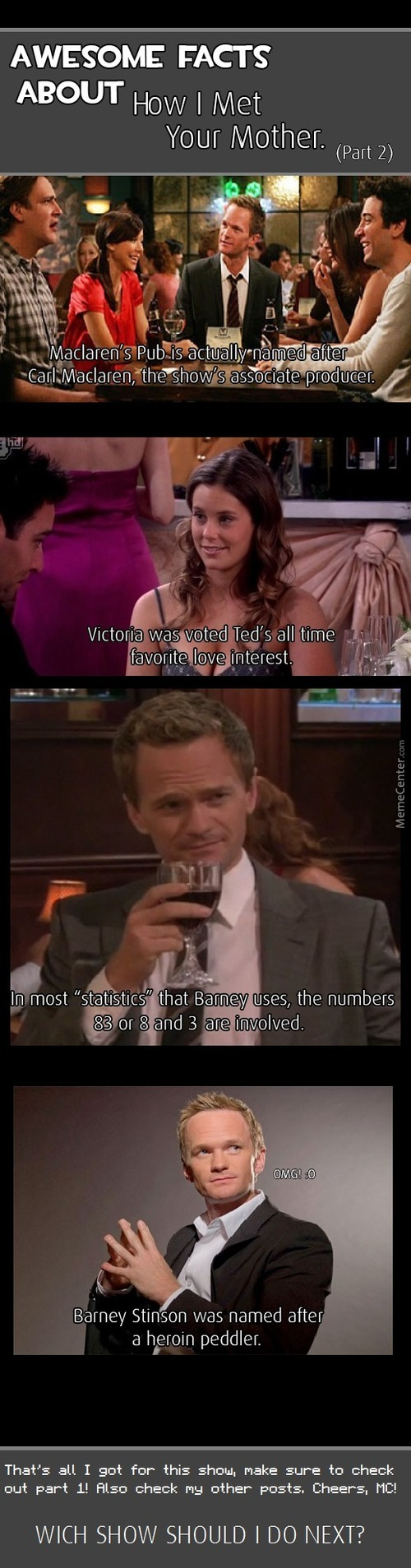 Facts About Himym Part 2.