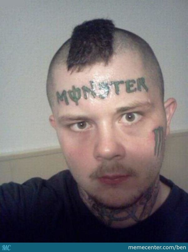 Fail Face Tattoo