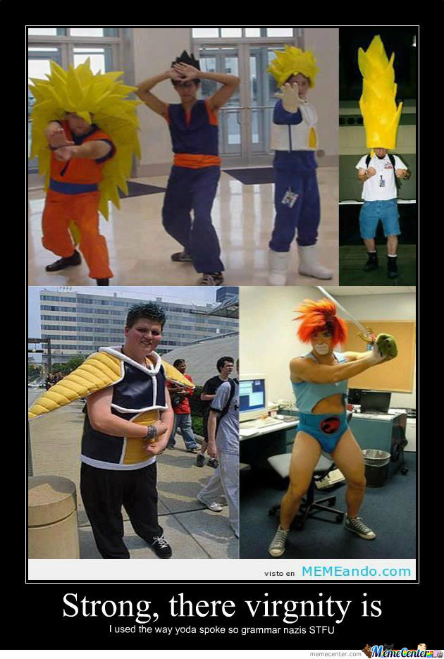 Fail Male Cosplay By Seanholmes Meme Center
