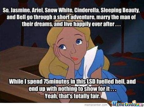 Fairness? Bitch,this Is Disney!