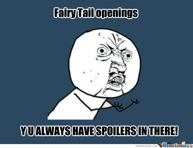 Fairy Tail Openings