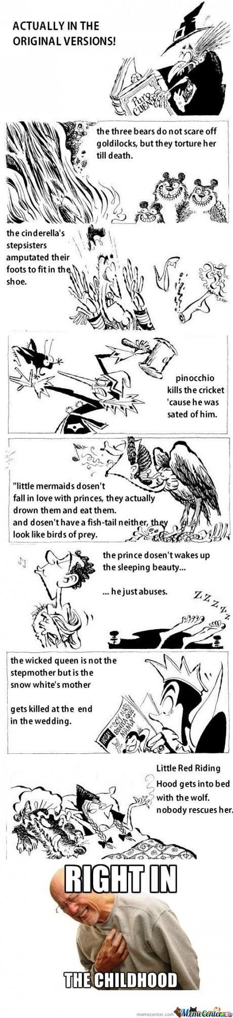 Fairy Tales Are A Lie