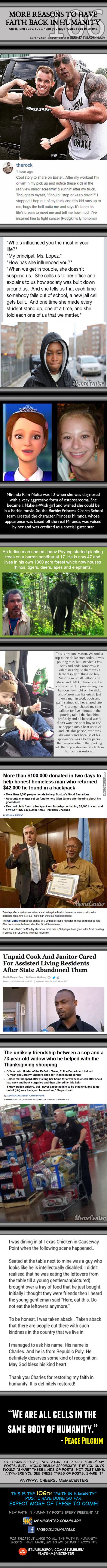 Faith In Humanity #106