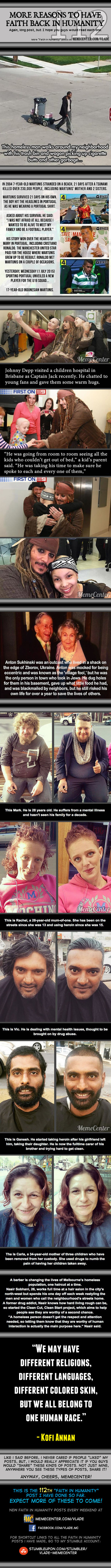 Faith In Humanity #112