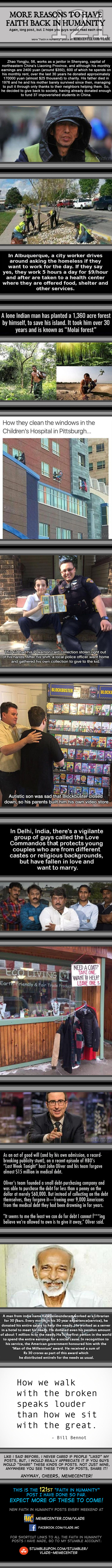 Faith In Humanity #121