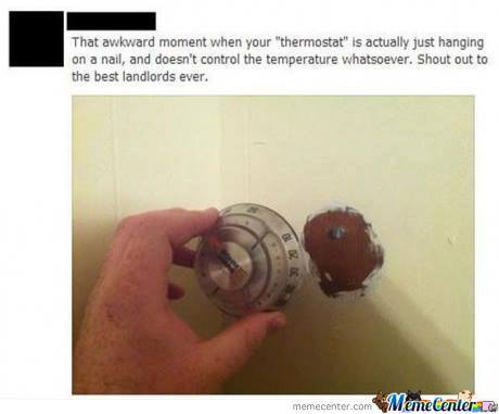 Fake Thermostat