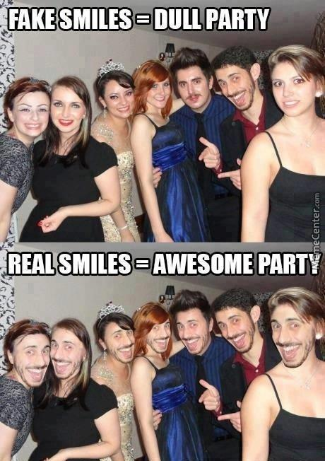 Fake Vs Real Smile