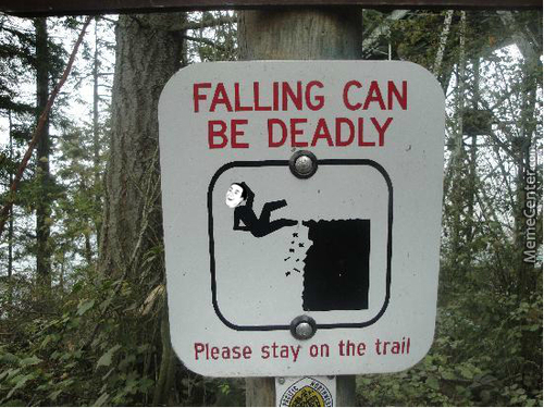 Falling...it's Deadly...