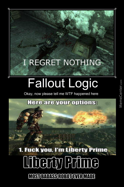 Fallout 3 In A Nutshell by sergiocast345 - Meme Center