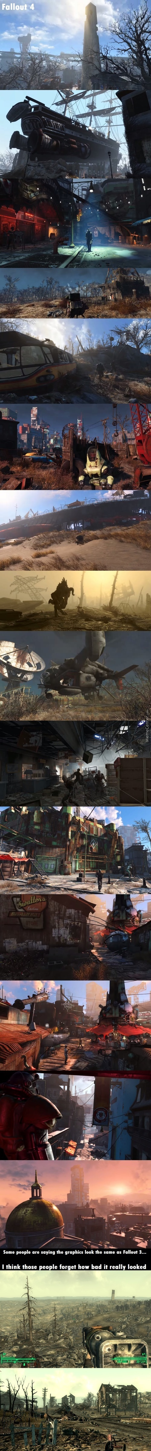 Fallout 4 Apparently Looks No Better Then Fallout 3
