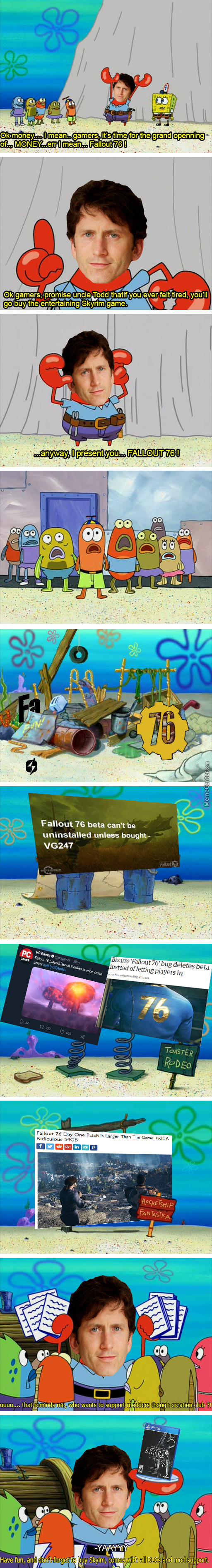 Fallout 76 In A Nutshell