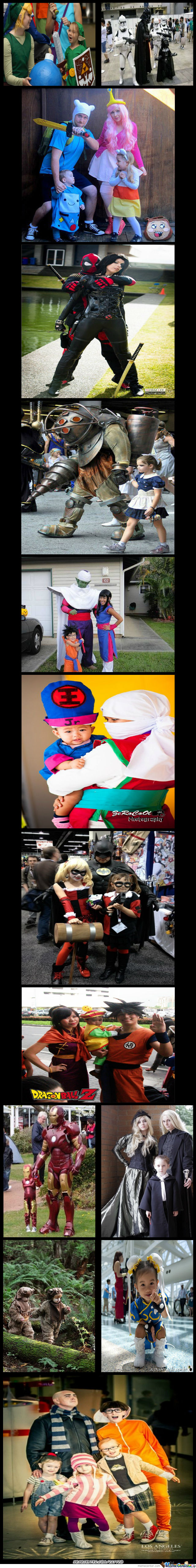 Family Cosplay Compilation