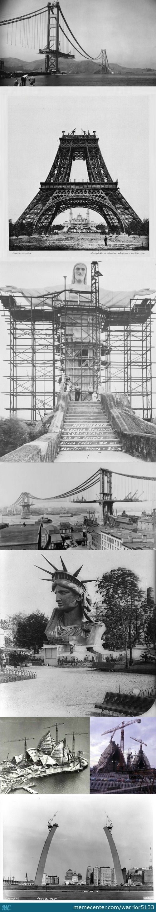 Famous Landmarks/ Structures Being Built