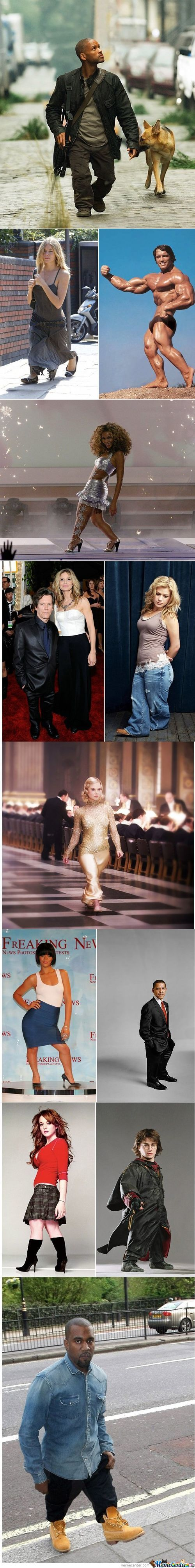 Famous People With Small Legs