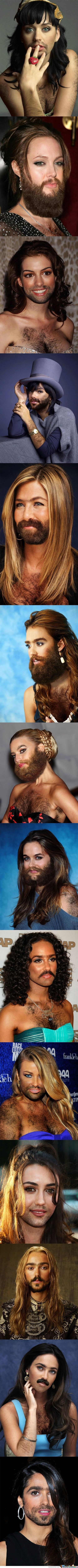 Famous Women With Beards