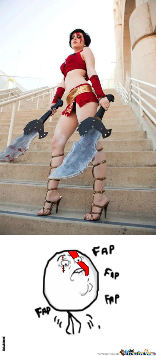 Fap Lvl: God Of War