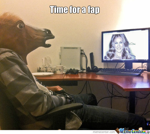 Fapping Horse