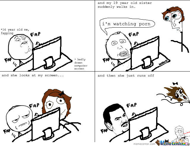 Fapping.