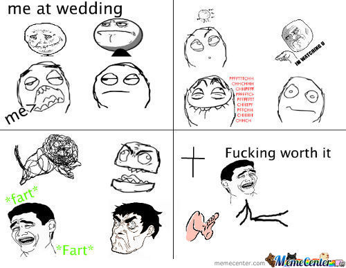 Fart Wedding