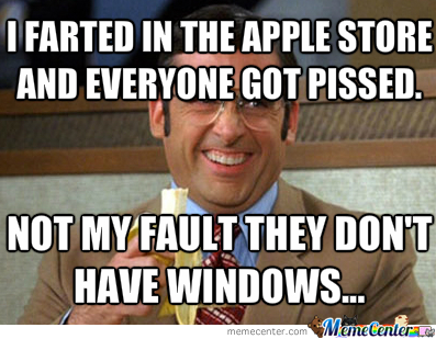 Farted In Apple Stores