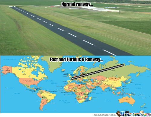 Fast And Furious 6 Runway
