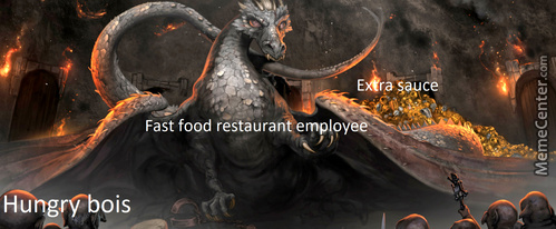 Fast Food Cashiers Can Teach Smaug A Thing Or Two