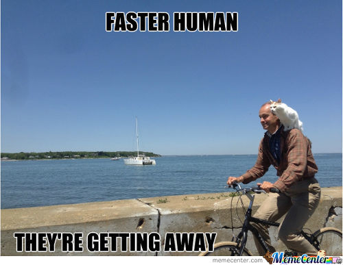 Faster Human!