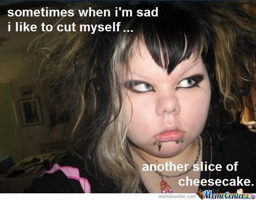 fat emo chicks