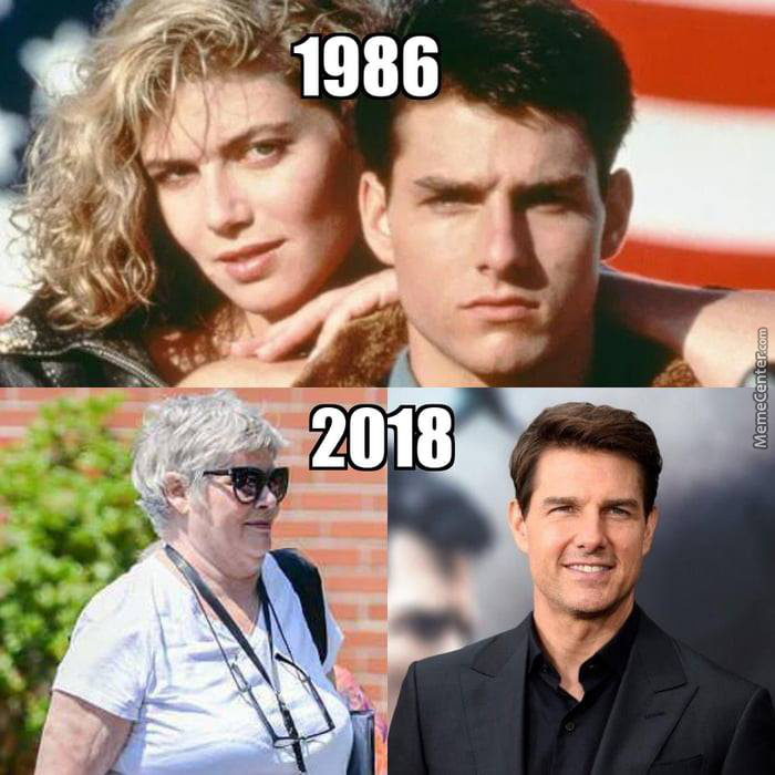 Father Time Can Be Cruel.. Unless You Think That You're Tom Cruise