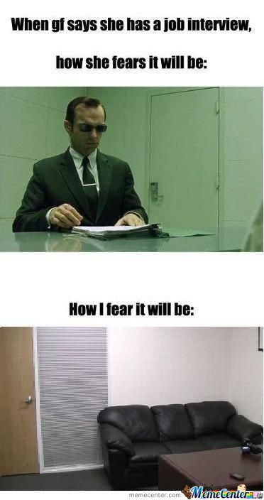 Fear For Interviews