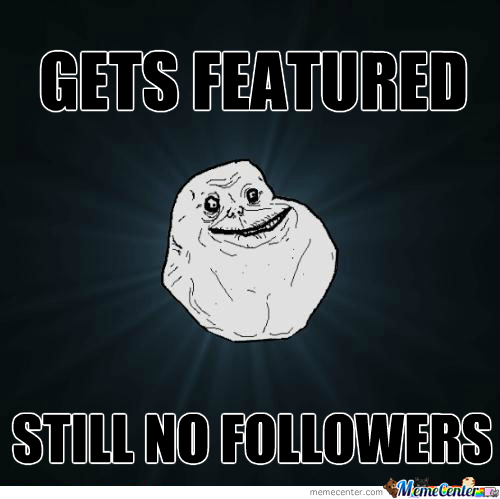 Featured, No Followers