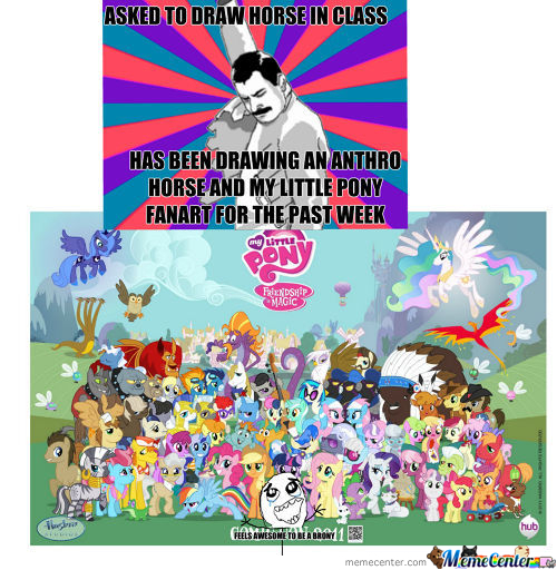 Feels Awesome To Be A Brony