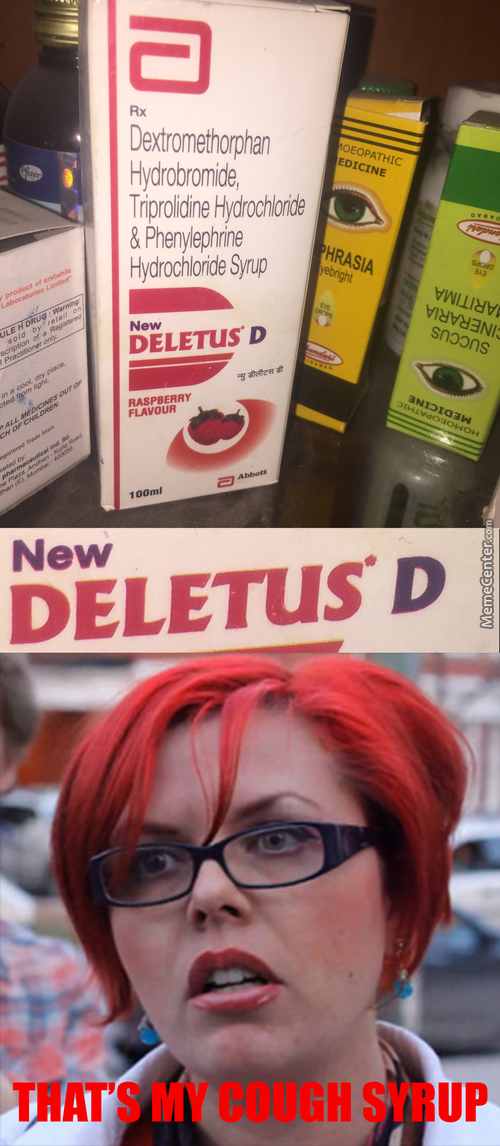 Feminists' Favourite Cough Syrup