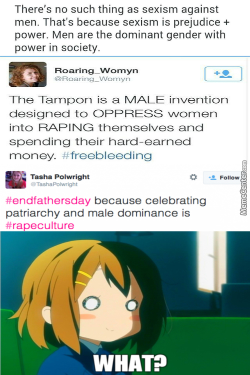 Feminists Geniuses They Are.