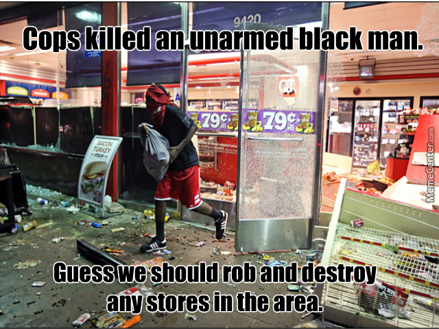 ferguson looter logic_o_3691205 riots memes best collection of funny riots pictures,Baltimore Riots Meme