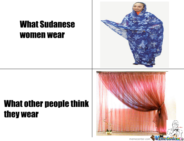 What Sudanese women wear