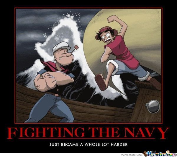Fighting The Navy