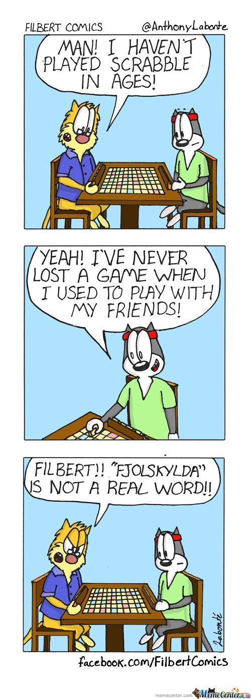 Filbert Plays Scrabble Pt.1