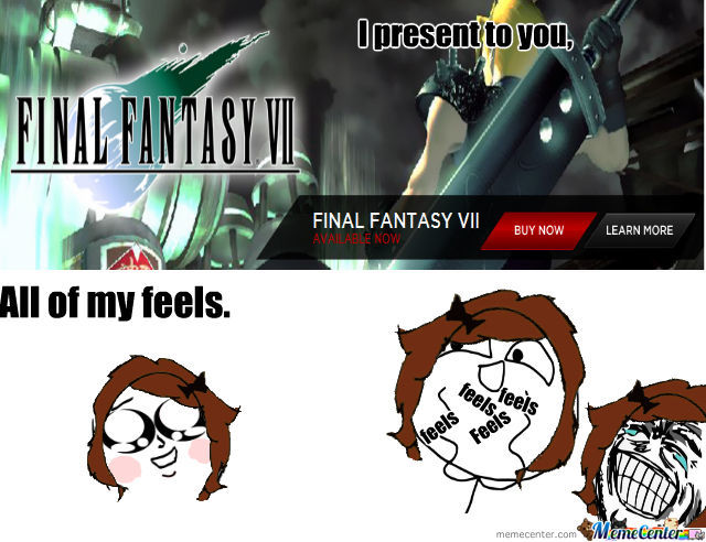Final Fantasy 7 Is Out For The Pc! > W <