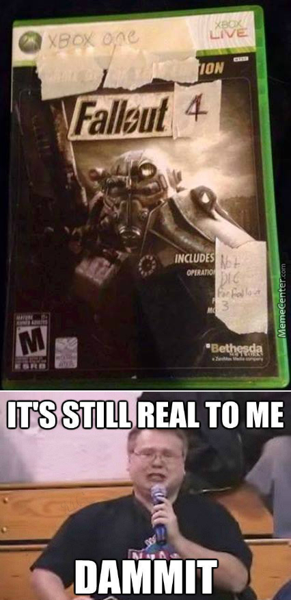 Finally Got My Hands On Fallout 4, Available 6/9/2420!